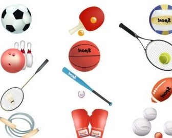 Vector Sports Equipment Sport Vector Graphics