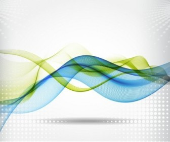 Vector Soft Wave Background Vector Art