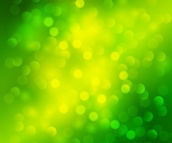 Vector Green Light Bokeh Background Graphic Abstract Vector Graphics