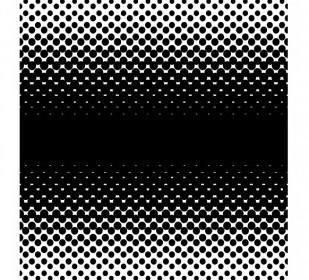 Vector Halftone Gradient Large Screen 2 Way Vector Clip Art
