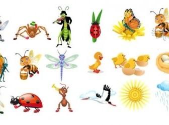 Vector Insect Cute Cartoon Vector Art