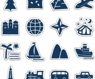 Vector Cartoon Icons Icon Vector Graphics