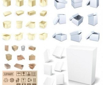 Vector Blank Packaging Vector Art