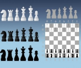 Vector Chess Illustrations Vector Art