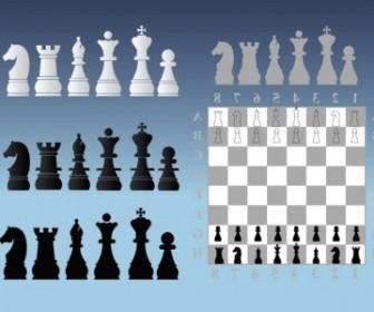 Vector Chess Illustrations Vector Art