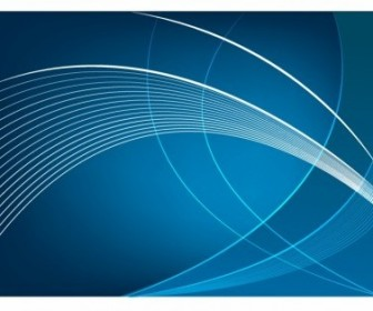 Vector Abstract Blue Curve Background Vector Art