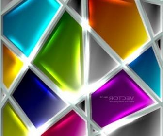Vector The Glass Texture Creative Design 01 Vector Art