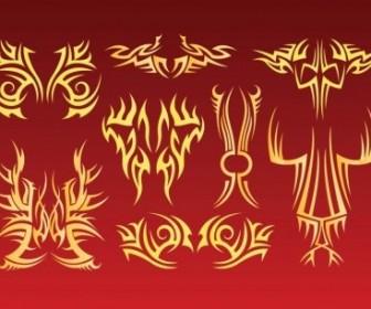 Vector Tribal Tattoo Vector Art