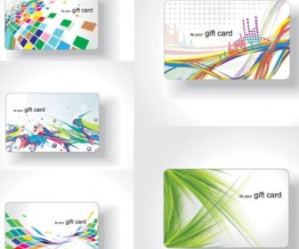 Vector Colorful Card The Trend Background Vector Art