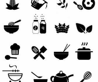Vector Cooking Icons Icon Vector Graphics