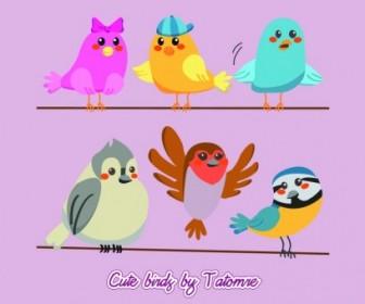 Vector Cute Bird !!! Vector Art