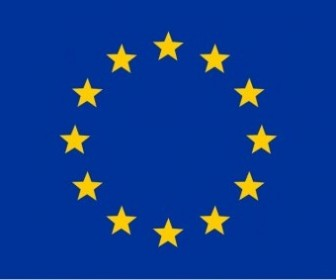Vector Flag Of The European Union Vector Clip Art