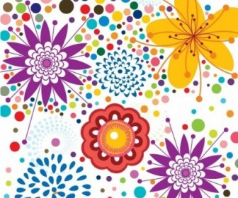 Vector Pattern Background Floral Vector Art