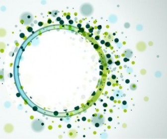 Vector Circles Background Abstract Vector Graphics
