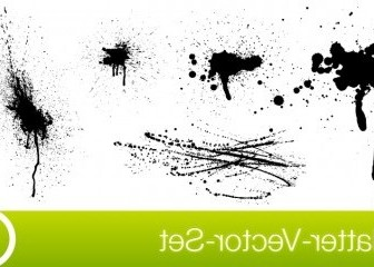 Vector SplatterVectorSet Vector Art