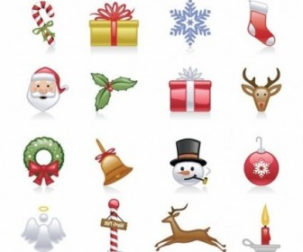 Vector Christmas Icons Set Icon Vector Graphics