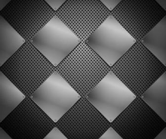 Vector Of 04 Metallic Background Vector Art
