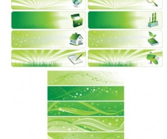 Vector Environmental Theme Background Vector Banner