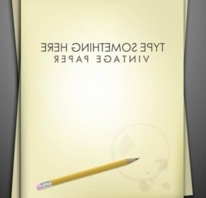 Vector Exquisite Pencil And Paper 01 Vector Art