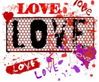 Vector Wear Of Love Element 02 Vector Art