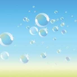 Vector Bubbles Vector Art