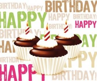 Vector Birthday Cake 02 Vector Art