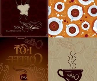 Vector Coffee Poster Vector Art