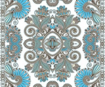 Vector Beautiful Pattern 04 Background Vector Art