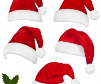 Vector Hats 02 Christmas Vector Graphics