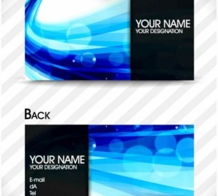 Vector Brilliant Dynamic Card 02 Pattern Vector Art