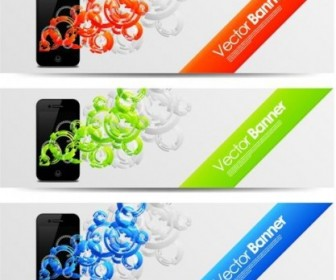 Vector Mobile Design Trend Pattern 1 Vector Banner