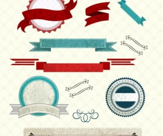 Vector French Element Web Design Vector Graphics