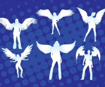 Vector Angel Girls People Vector Art