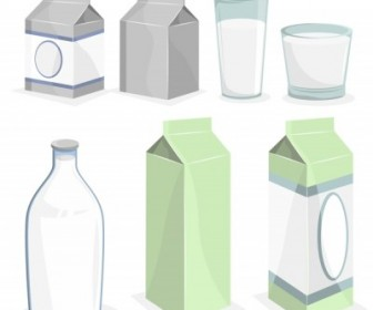 Vector All Related To Milk Vector Art