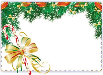 Vector Elements Border 01 Christmas Graphics