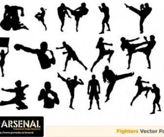 Vector Influx Of Must Go Media Produced 7 People Vector Art