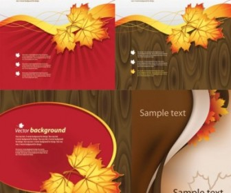 Vector Autumn Theme Vector Art