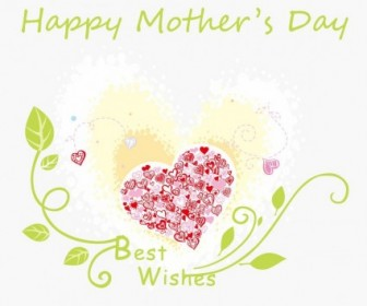 Vector Happy Mother's Day Illustration Vector Art