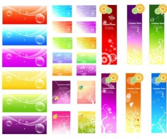 Vector A Variety Of Fantasystyle Background Vector Art