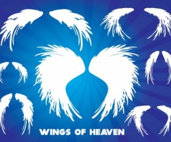 Vector Wings Of Heaven Vector Art