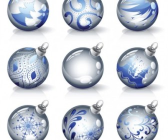 Vector Crystal Texture Of The Ball Christmas Vector Graphics