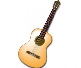 Vector Spanish Guitar Vector Art