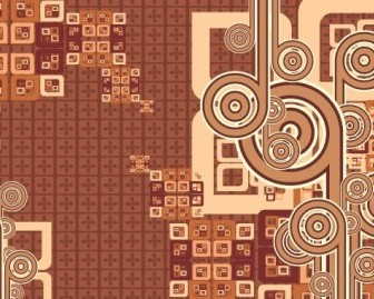 Vector Cool Brown Background Vector Art