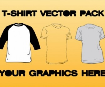 Vector Tshirt Pack Vector Art
