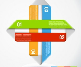 Vector Shape With Infographics Elements Abstract Vector Graphics