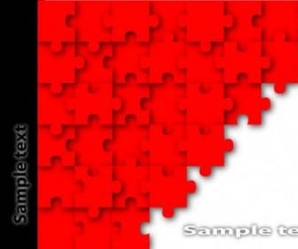 Vector Brilliant Puzzle 02 Vector Art