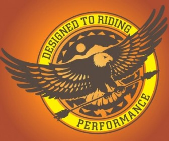 Vector Eagle Logo Graphics Vector Art