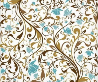Vector Floral Background Vector Art