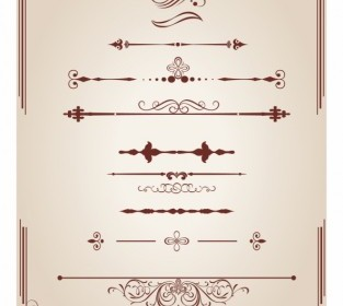 Vector Dividers And Corners Design Element Vector Art