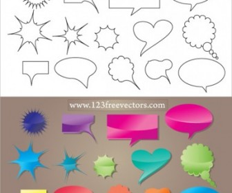 Vector Speech Bubble Vector Art